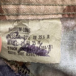 Authentic Air Force Camouflage Combat Trousers